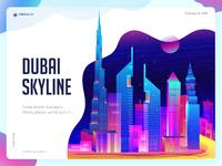 Dubai skyline highres 01