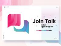 Join Talk Logo Mark