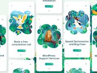 Wildpress app illustration vol. 2