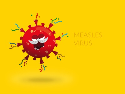 Character Design - Measles Virus