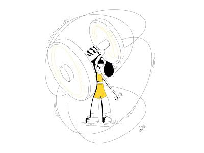 Woman Fit By Gaelle Dalmas On Dribbble Danskin women's drawcord athletic pant. dribbble