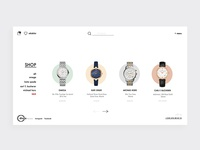 Redesign Concept: Diana Luxury Watch Store (Unofficial)