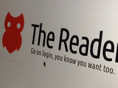 The Reader Login css html5 login ui