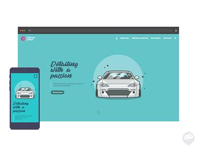 Delicious Details - website design website website concept website design