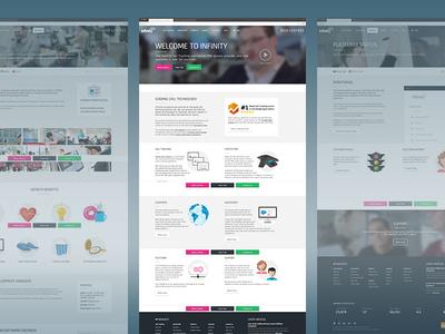 Infinity website