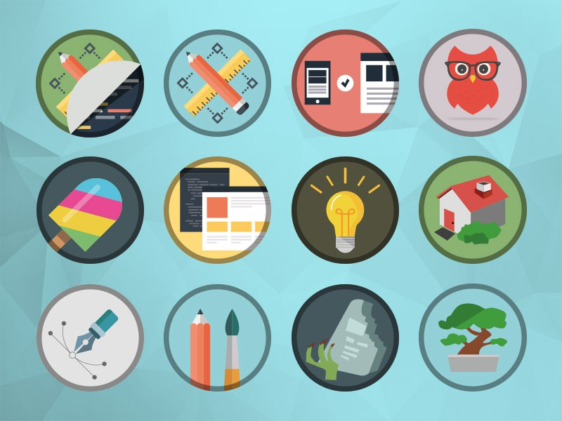 Mikeons illustrator photoshop icons