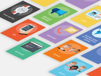 Feature Cards illustrator photoshop icons