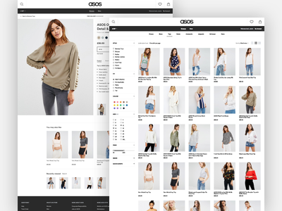 ASOS makeitbetter ecommerce shop fashion
