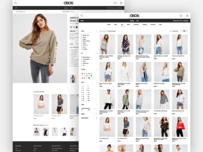 ASOS makeitbetter ecommerce shop fashion