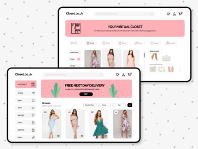 Fashion Web App | Closet.co.uk