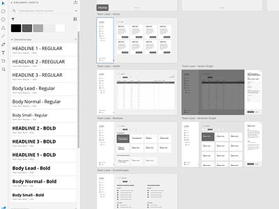 SaaS Design Prototype ui ux software development software design saas