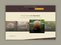 WIP - Coffee Responsive Website Proposal (Section)