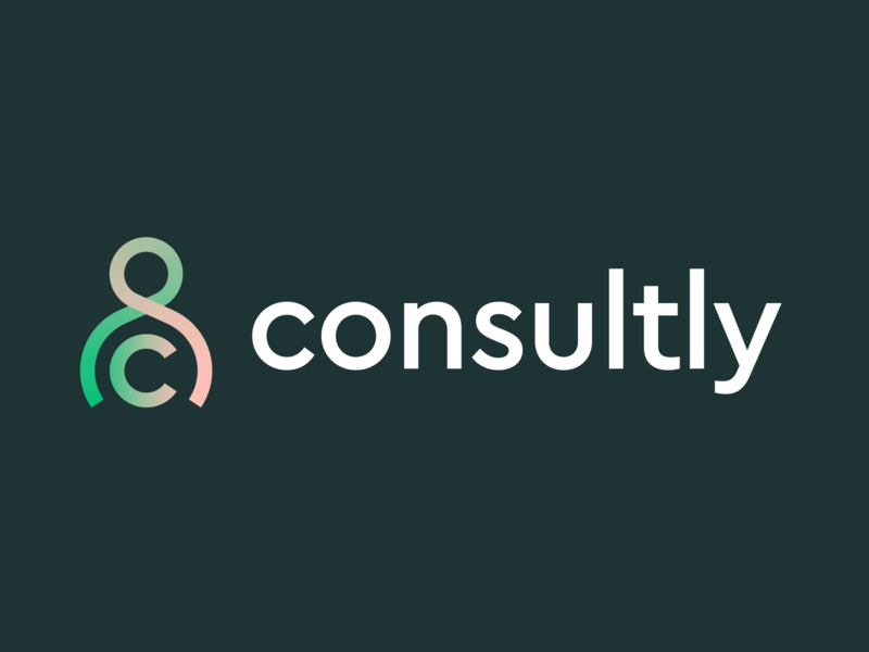 Consultly logo concept (updated) branding logo