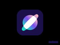 Saturn logo design
