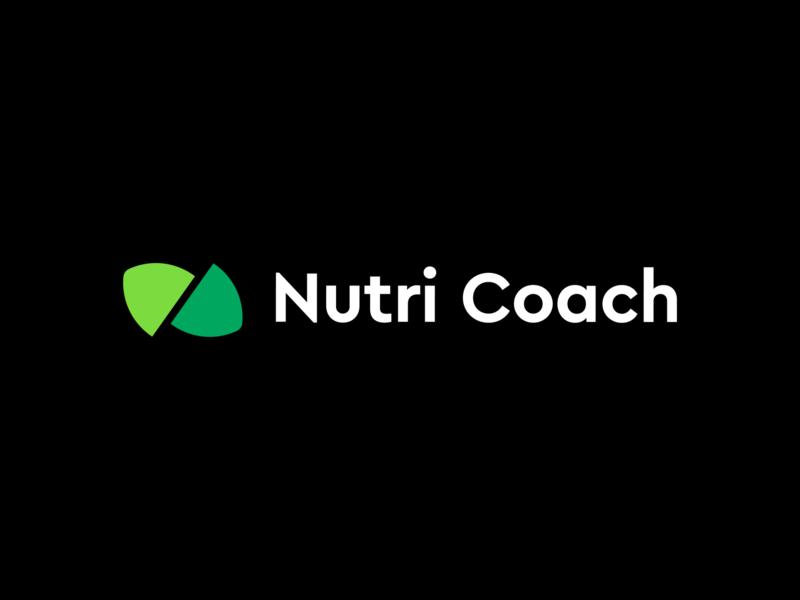Nutri Coach logo design branding logo
