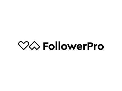FollowerPro logo concept pt.2 logo design branding logo