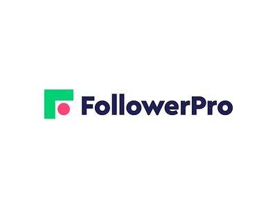 FollowerPro logo concept pt.3 branding logo