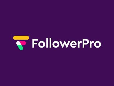 FollowerPro logo concept pt.4 branding logo