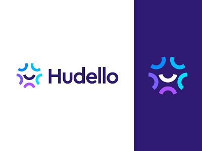 Hudello logo design branding logo