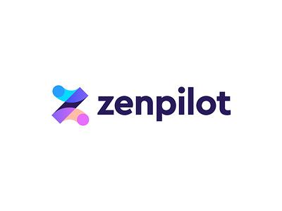 zenpilot logo concept z zen monogram branding logo