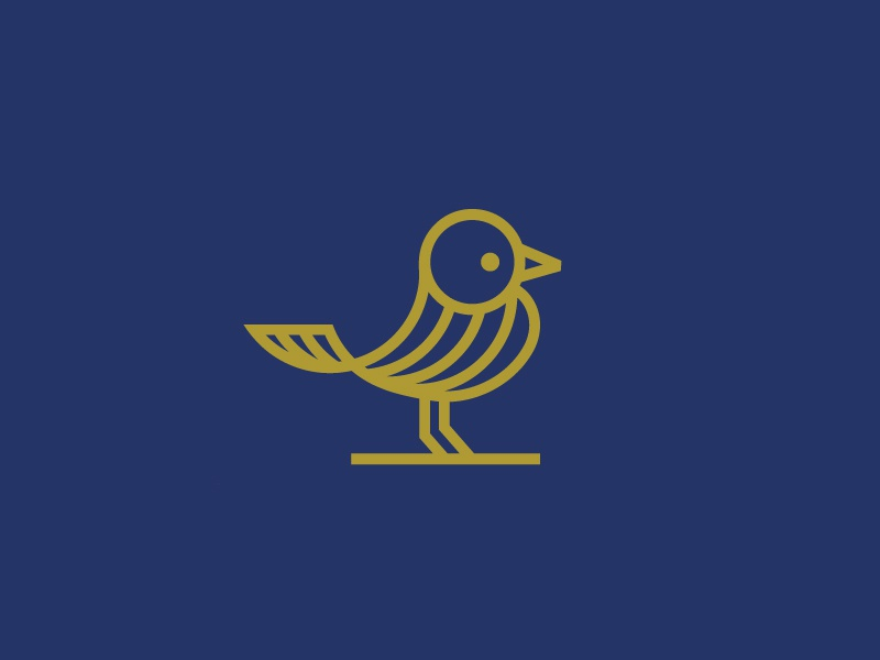 Bird ( for sale) great bird lines beauty liberty  brave minimalistic logo protection fashion mark icon nature modern textile gold bird
