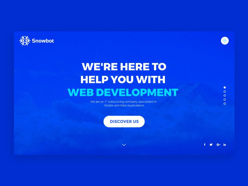Snowbot website