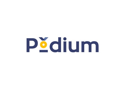 Leaders Podium | Recruitment company logo concept ribbon award social people technology it business excellence standout selected medal olympics victory job recruiting gold winner winners recruitment podium leader leaders