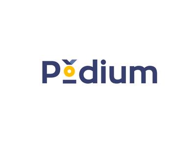 Leaders Podium | Recruitment company logo concept