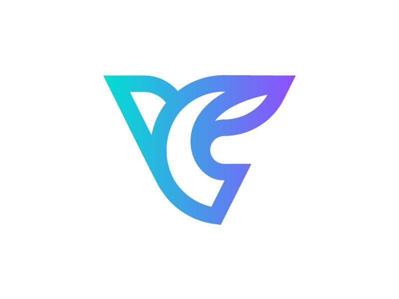 VC monogram by Vadim Carazan on Dribbble