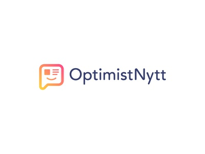 Optimist News final logo page emotion emotions emotionally message friendly lines truth text bubble human eye happiness news letter emoticon social people emoji emoticon happy optimist optimistic chat news aggregator smile