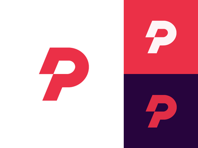 P monogram for Picodom | DOM builder d pd fast coding  icon motion speed future branding brand identity developing software technology link coding developer icon p  mark p monogram logo