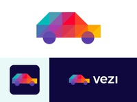 Logo for vezi | Car Advertising Company (wip)
