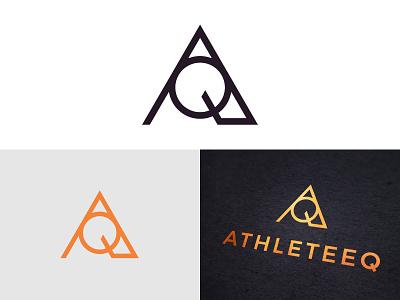AQ monogram for a luxury sport accessories mark cloths luxury stuff athletic brand branding sport accessory accessories monogram logo icon aq a q
