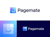 Logo proposal for Pagemate | Web hosting and maintenance company