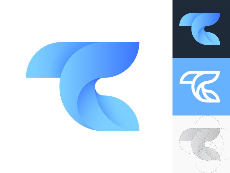 TC monogram crypto cryptocurrency trading letter letters combination identity logo logos togheter brand branding monograms icon mark typography t c tc monogram lettering