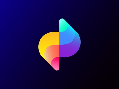 Abstract logo concept for Zoominfly waves energy course flying abstract colorful entertainment wave  flexible curves icon branding mark light s geometric future bright lighting technology drone futuristic track racing neon air flow fly bolt z letter