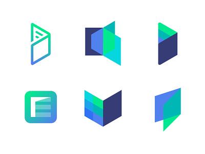 Logo concepts explorations for Edugate