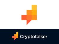 Logo concept for cryptocurrency platform