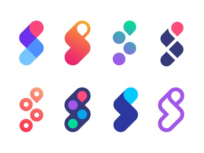 Logo concept versions for Scooptrack | Search engine (sold