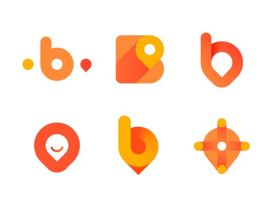 Logo concepts for all-in-one ride hailing app