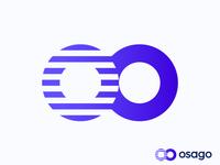 oo logo concept for auto service app