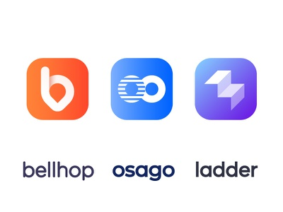 Approved app logos / logo / icons app services icon mark service repair auto car motion fast l fitness ladder b monogram letter location shadow oo drive cab o brand energy dynamic moving icon ride map local lettering space lettering negative minimalistic