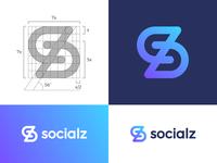 Logo concept for socialz