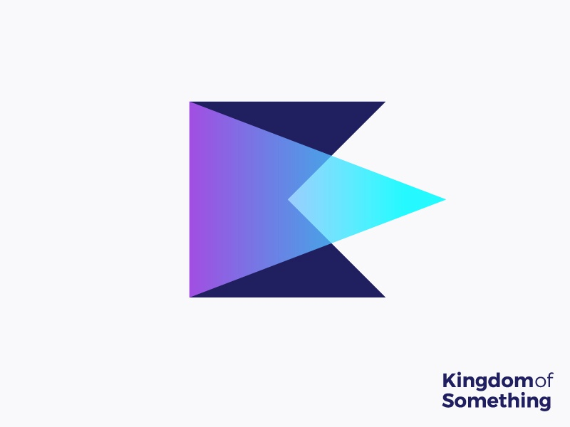 Logo concept for a creative production company (wip) forward artistic sharp arrow lights movie art king kingdom of something design icon monogram k crown light