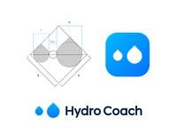 Logo concept for Hydro Coach (wip)