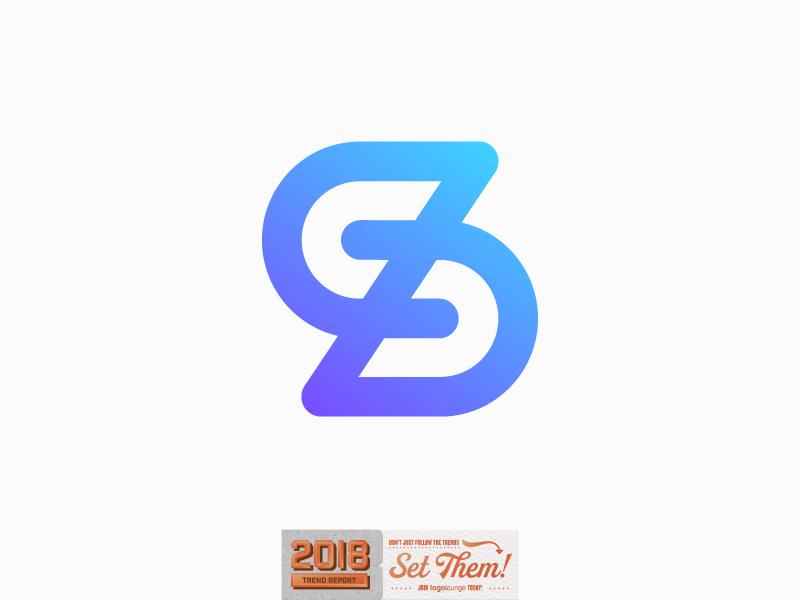 Socialz logo in LogoLounge 2018 Logo Trends sz s z letter lettering monogram abstract connection interaction communication social talk marketing management influencer symbol mark trustworthy socialize media digital service brand advertising zs