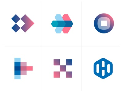 Logo concepts for headbits