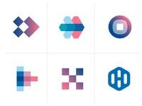 Logo concepts for headbits