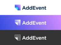 AddEvent logo versions | Calendar management service