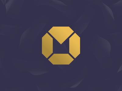 M + Diamonds logo concept for a luxury brand (wip)